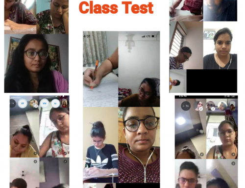 Online Class Test 2020 (During lockdown)